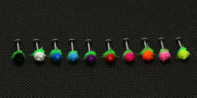 500pcs-mix-10-colors-5-design-belly-tongue-lip-eyebrow-ring-earrings-wholesale-body-jewelry-piercing-silicone-rose-flower-koosh